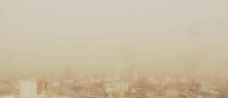 Article : Dakar envahi par la poussière